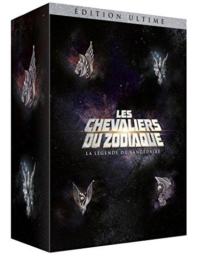 Les Chevaliers du Zodiaque : La légende du Sanctuaire Blu-Ray + DVD + Livre + Statue Myth Cloth du Sagittaire [Édition Ultime]