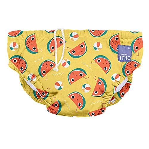 Bambino Mio SWPS MEL Bambino Mio, Wiederverwendbare Schwimmwindel, Milde Melone, S (<6 Monate), mehrfarbig
