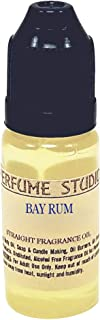 Perfume Studio Fragrance Oil for Soap Making, Candle Making, Perfume Making, Oil Burners, Air Fresheners, Body Mists, Incense, Hair & Skincare Products. Pure Parfum; 12ml (Bay Rum)