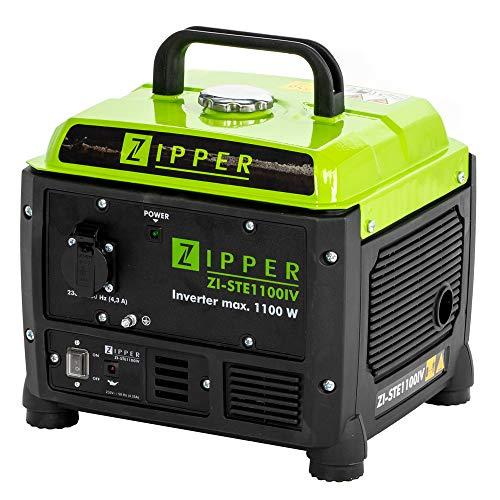 Zipper Stromerzeuger ZI-STE1100IV INVERTER Technologie – für sensible Geräte