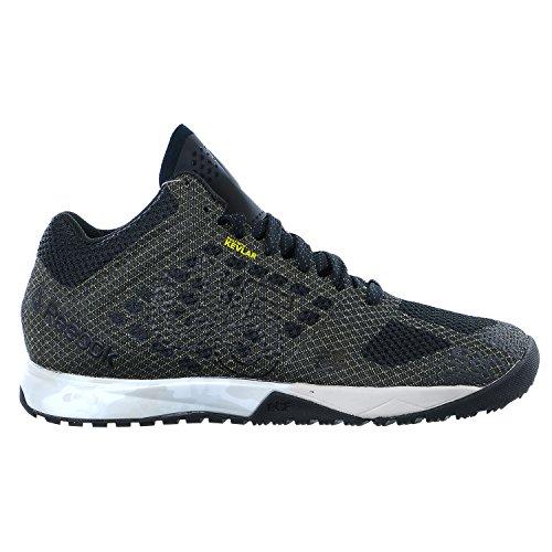 Reebok Crossfit Nano 5.0 Mid Honor Pack Shoes - Black/Coal/White/Snowy Grey/Steel/Polar Blue - Womens - 6.5