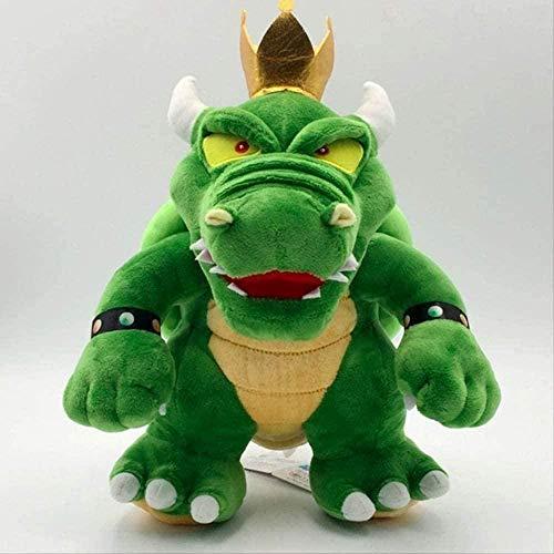 NC196 Star Plush - 30 cm Super Green Bowser Dragon Toys Plush King Doll Decoration Kids Gift