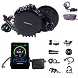 BAFANG BBS02B 750W 48V Ebike Motor with LCD Display C961 Mid Drive Electric Bike Conversion Kits