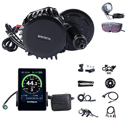 BAFANG BBS02B 48V 500W Motor Ebike Conversion Kit with All Electric Bike Part and Componet T44