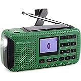 Retekess HR-11S Emergency Radio Solar Hand Crank Radio AM FM Shortwave Radio Dynamo