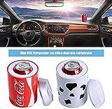 small-fridge Mini Can Cooler Coca-Cola Kühlschrank Auto Kühlschrank Auto Nach Hause Dual Use Kleine Kühlbox Heizung Schlafsaal Haushalt A - 3