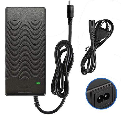 HORO.ES Cargador de Batería de Litio 42V 2A Compatible con Patinete Xiaomi Scooter M365 Ninebot ES1/ES2