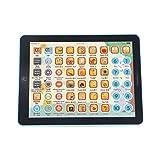 YXDS Tableta táctil para niños, máquina de Lectura de Aprendizaje, máquina de educación temprana para niños, Aprendizaje Educativo, inglés, Chino