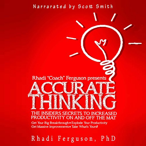 Accurate Thinking for Coaches and Grapplers audiobook cover art