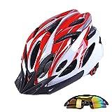 Casco de bicicleta, gorras de deporte gafas ciclismo casco de ciclista en bicicleta de montaña Gafas Cascos Mtb motocicletas casco de seguridad for la resistencia a la mujer de los hombres de Impacto