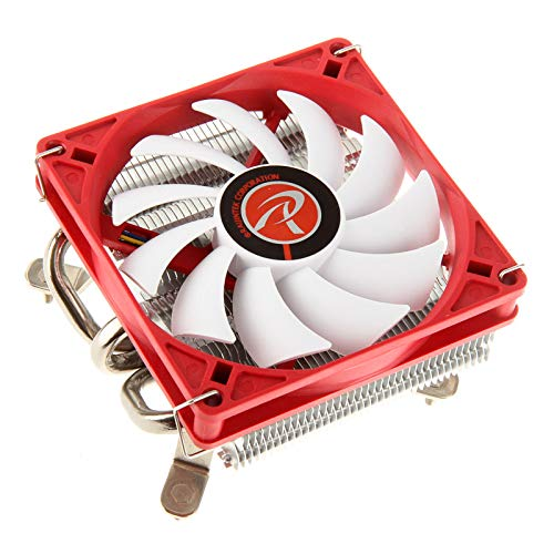 RAIJINTEK Zelos Prozessor Kühler - Computer Kühlkomponenten (Prozessor, Kühler, Buchse AM2, Buchse AM2+, Buchse AM3, Socket AM3+, Socket FM1, Socket FM2, Socket FM2+, 9 cm, 800 RPM, 1400 RPM)