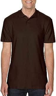 Gildan Mens SoftStyle Double Pique Polo Shirt