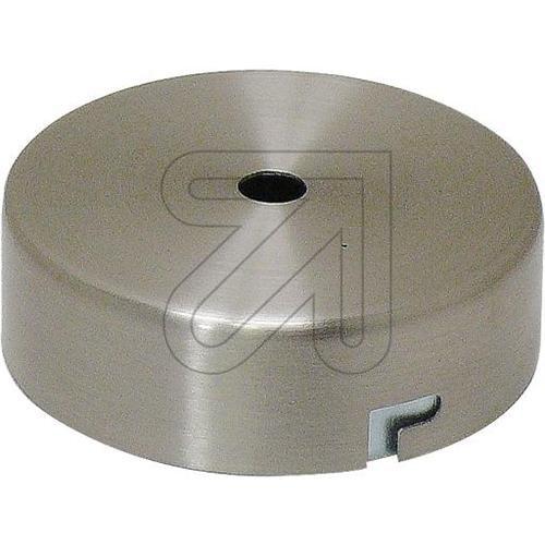 Baldachin Nickel Geb. mit Deckenhalter für Stahl
