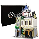 Nifeliz Street Old Pub MOC Building Blocks and Buildable Toy, Collectible Model Set to Build, Assembly Set for Teens and Adults (4030 Pcs)