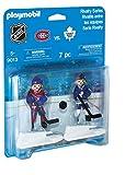 PLAYMOBIL Sports & Action NHL Blister Toronto Maple Leafs vs Montreal Canadiens Figura de construcción - Figuras de construcción (Multicolor,, 5 año(s), Niño/niña, 2 Pieza(s), 7 Pieza(s))