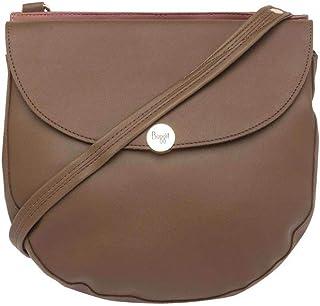 Baggit Women's Synthetic Handbag (Sanji Y G Z)(Beige)