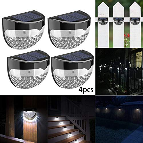 Voiks Solar Lights, Solar Sensor Security Lights 24 LED Waterproof Solar Powered...