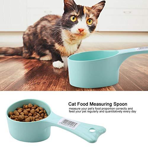 Meet lepel, huisdier kat voedsel meten lepel Cup veilig hond voeden keuken plastic schep