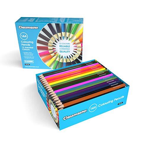 Classmaster CP144 Class Box Colouring Pencils –...