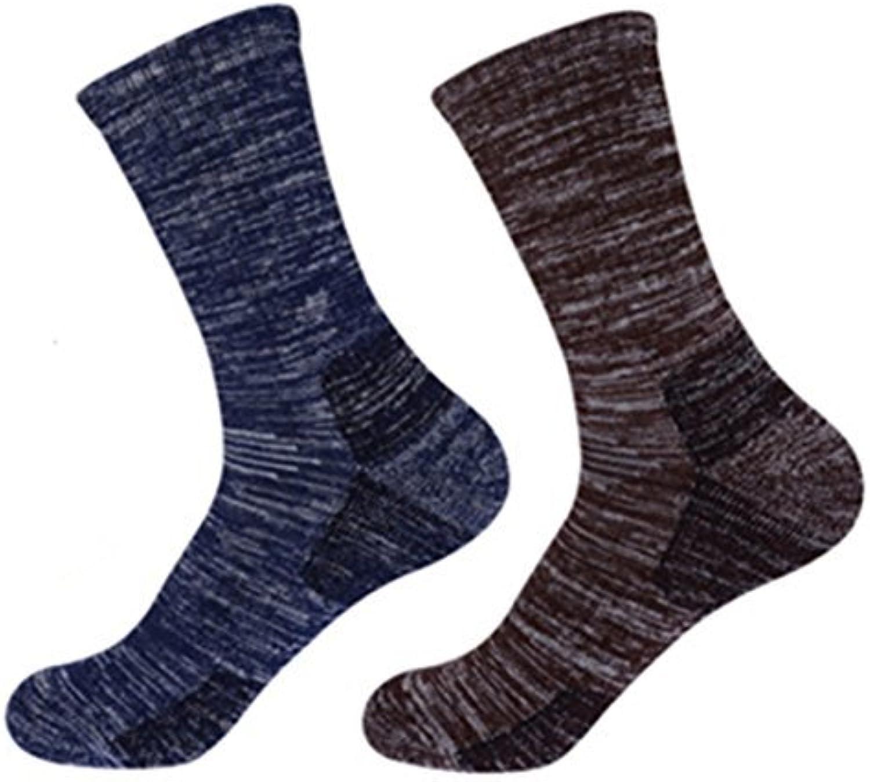 ELLEN Antiskid Wicking Outdoor Multi Performance Running Hiking Cushion Socks(2Pack)