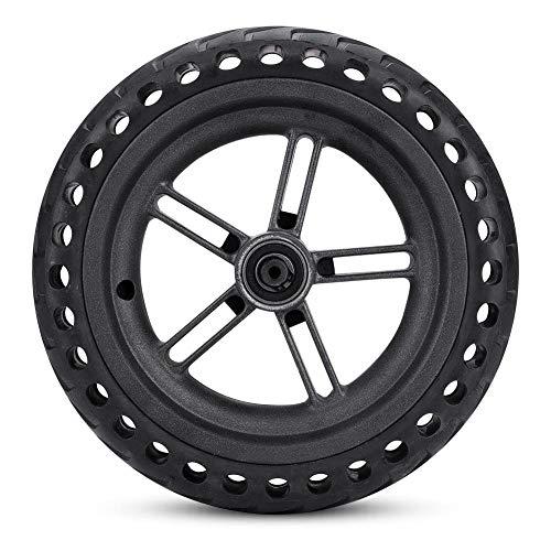 Alomejor Juego de neumáticos a Prueba de explosiones de Las Ruedas del neumático de la E-Bicicleta Juego de neumáticos Reemplazo de la Rueda del neumático para el monopatín