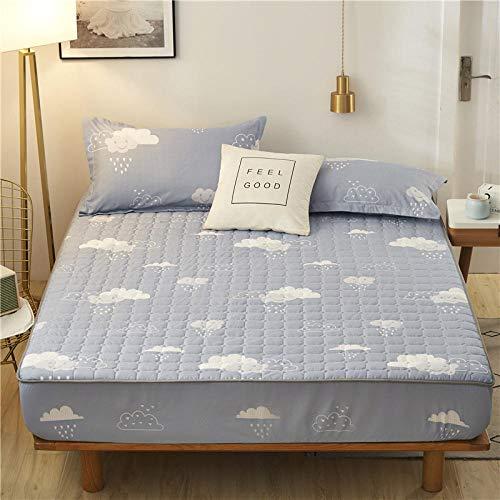B/H Boxspringbett Spannbettlaken,Simmons Schutzhülle, Dicke rutschfeste Tagesdecke-A_180 * 200cm,Gute Qualität Bettlaken