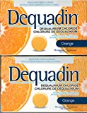 Dequadin Orange Anti-Bacteria Dequalinium Lozenges 2 Boxes of 16