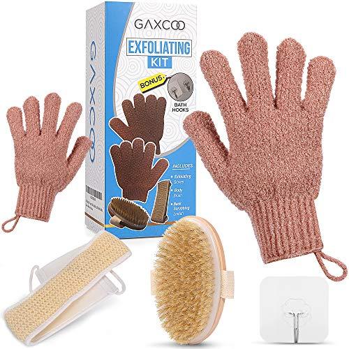 Guantes Exfoliantes marca Gaxcoo