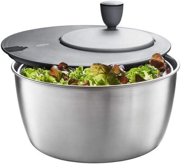 Max Under blast sales 52% OFF Gefu GF28180 Salad Spinner Stainless Rotare Steel