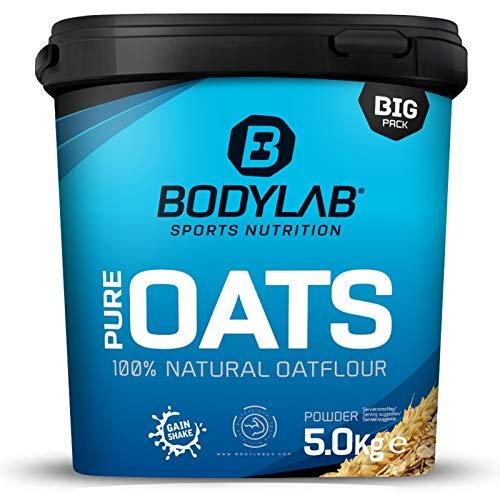 Bodylab24 Pure Oats / 100{aeb9a1b92190f16cb6694770a58d34d2bc1006a40c623ff7301aea45ab58da6a} natürliche Haferflocken fein gemahlen / ausgezeichneter Kohlenhydratlieferant / unterstützt ein langes Sättigungsgefühl / ohne künstliche Zusätze / leckerer feiner Geschmack