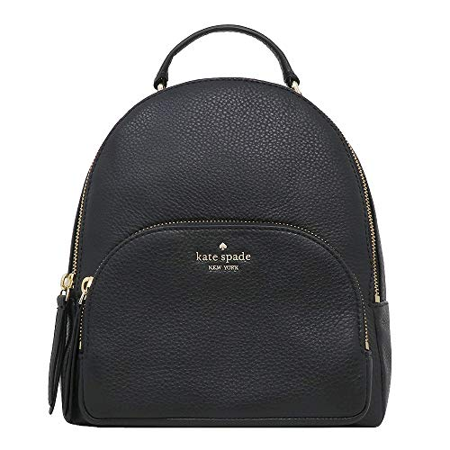 Kate Spade New York Jackson Medium Leather Backpack (BLACK)