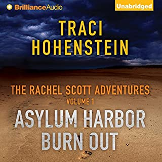 Asylum Harbor and Burn Out audiobook cover art