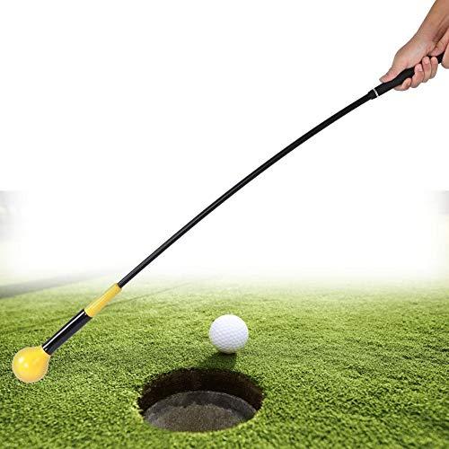 lahomie Golf Swing Trainer, Golf Club Swing Training Hilfe Swing Speed Strength Tempo Training Tool Swing Practice Zubehör