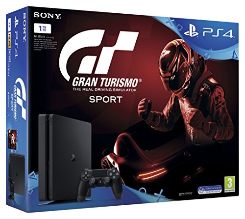 Sony Playstation 4 - PS4 1TB Slim + GT Sport (bundle)
