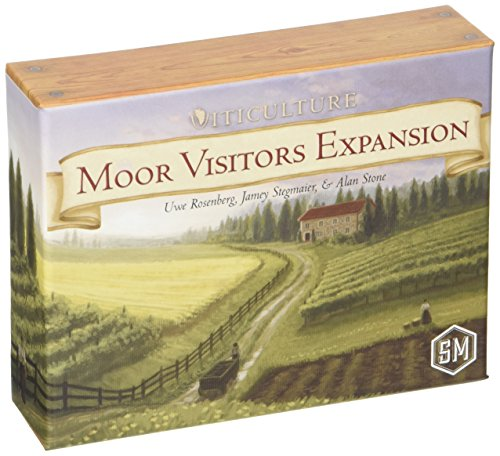 Viticulture Moor Visitors Expansion - Board Game - Brettspiel - Englisch - English
