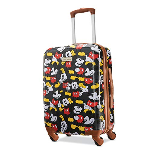 American Tourister Disney Hardside Luggage with Spinner Wheels, Mickey Mouse Classic, Carry-On...
