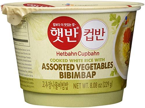 CJ Minuten-Reis mit Gemüse Bibimbap, 3er Pack (3 x 229 g)