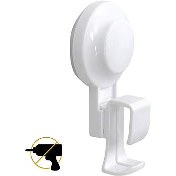 TAILI 洗面器フック 湯おけホルダー 吸盤式 強力 壁傷つけない 防水と防油 お風呂 洗い桶掛け ホワイト
