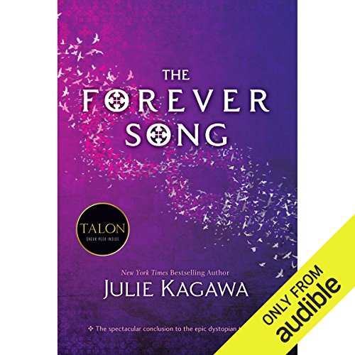 The Forever Song                   By:                                                                                                                                 Julie Kagawa                               Narrated by:                                                                                                                                 Therese Plummer                      Length: 12 hrs and 22 mins     539 ratings     Overall 4.5