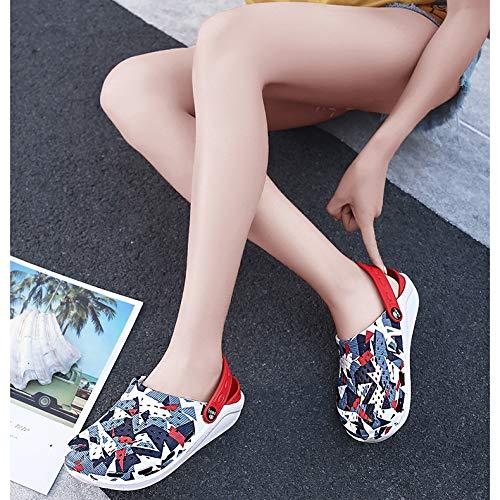 AYDQC 2020 Sandalias de Hombre de Verano Nuevas Sandalias EVA Ligero Playa Zapatillas Antideslizantes Mule Menas Mujeres Jardín Zapatos Casual Flip (Size : 36)
