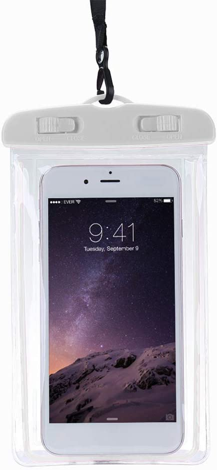 LINASHI Phone Waterproof Bag, Glow in Dark Underwater Swimming Waterproof Bag Cell Phone Dry Pouch Case Cover