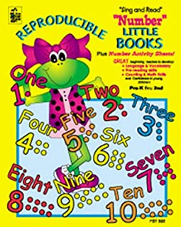 Number Little Books (pre-K thru 2nd)