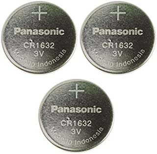 Panasonic CR1632-3 CR1632 3V Lithium Coin Battery (Pack of 3)