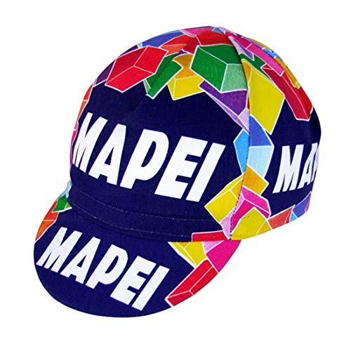 Apis Cappellino Ciclismo Team Vintage MAPEI Cycling cap HOSTED BY PRO' Line