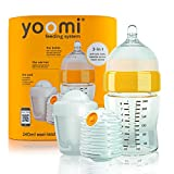 Yoomi Y18B1W1P Babyflasche, 3 in 1 Set, 240 ml