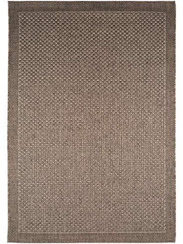 benuta Tapis, Fibres synthétiques, Gris, 80 x 150 cm