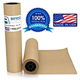 Brown Jumbo Kraft Paper Roll - 18' x 2100' (175') Made in The USA - Ideal for Packing, Moving, Gift Wrapping, Postal, Shipping, Parcel, Wall Art, Crafts, Bulletin Boards, Floor Covering, Table Runner
