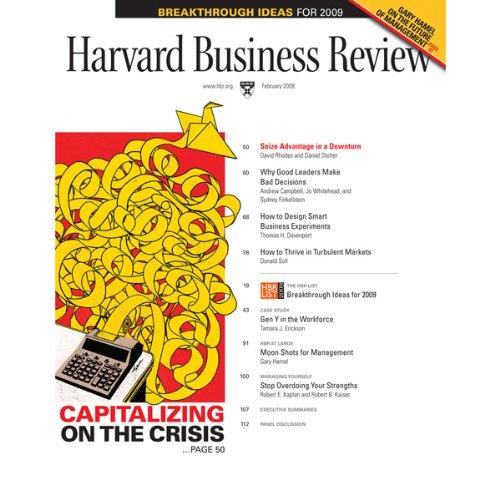 Harvard Business Review, February 2009 cover art
