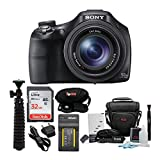 Sony DSC-HX400 Cyber-Shot Digital Camera with 32GB SD Card and Battery Bundle