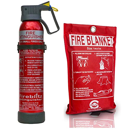 Introductory Offer on Fire Safety Pack 500 g Multi Purpose BC Powder Fire...